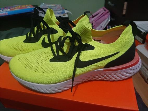 Zapatillas Nike Epic React Fluo De Hombre Talle 43 Arg Us 10