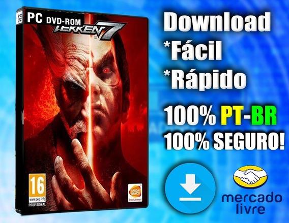 Tekken 7 Pc - Completo 100% Pt-br - Midia Digital!