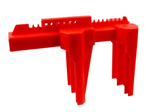 Imagem 1 de 10 de Bloqueio Para Válvula Esférica Manopla 1/2  A 2 1/2  Lockout