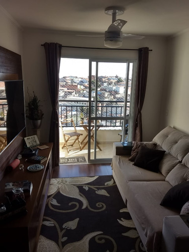 Imagem 1 de 30 de Lindo Apartamento Andar Alto, Residencial Ravenna,  Engordadouro, Jundiaí - Ap02275 - 69515592
