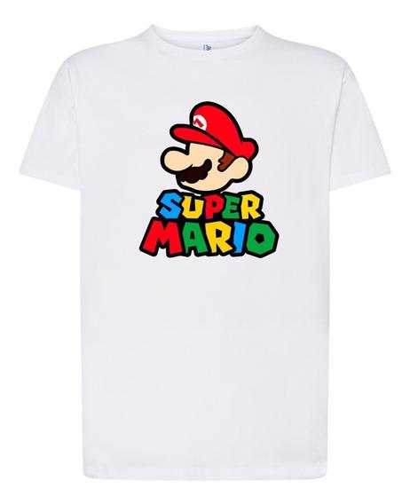Playera Personalizado Diseño Juego Mario Bros