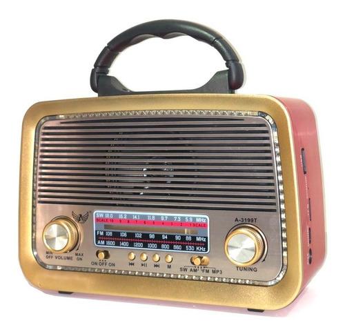 Alto-falante Altomex A-3199 portátil marrom 110V/220V