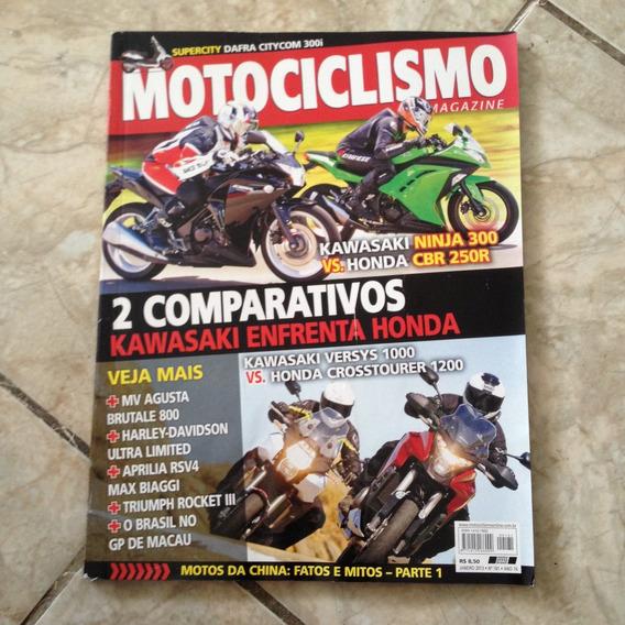 Revista Motociclismo 181 Jan2013 Kawasaki Ninja 300 Honda Cb