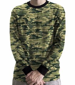 Moletom Blusa Frio Camuflado Exercito Funk Militar Hype