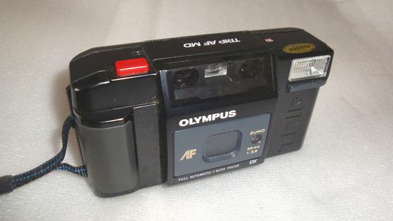 Maquina Fotografica Trip Md Olympus - Quebrada No Estado