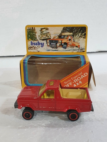 Buby Pick Up Bronco En Cajita Sin Uso 1:64