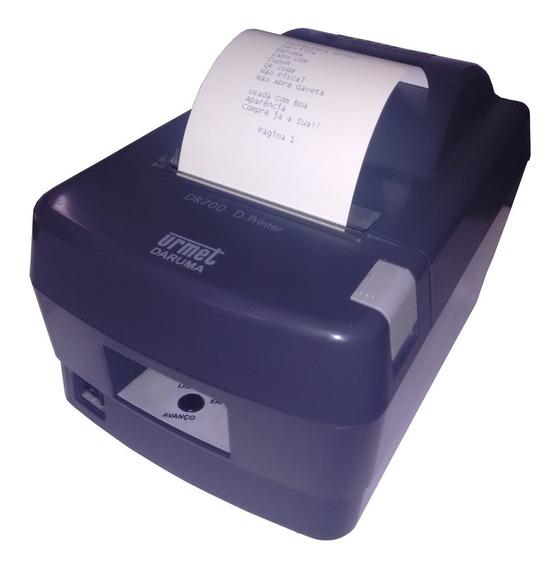 Impressora Daruma Dr700 Cupom Usb N Fiscal Qr Code Serrilha