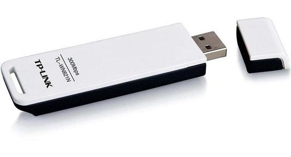 Adaptador Wireless Tp-link Usb Wn-821n 300mbps Wifi