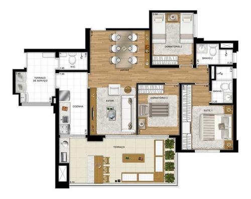Imagem 1 de 10 de Apartamento - Ref: 3201