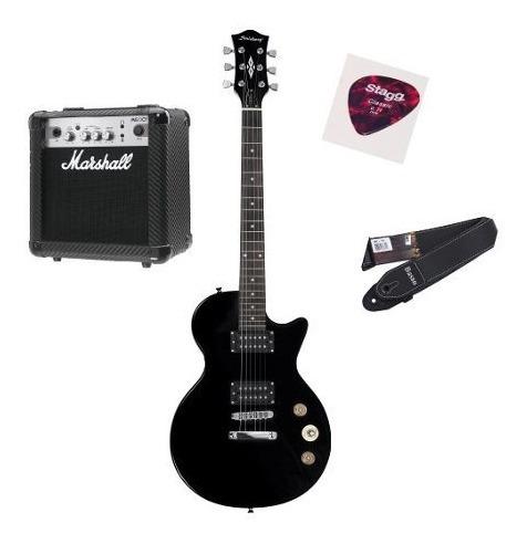 Combo Guitarra Lp Benson + Cubo Marshall Mgap-b Original Nf