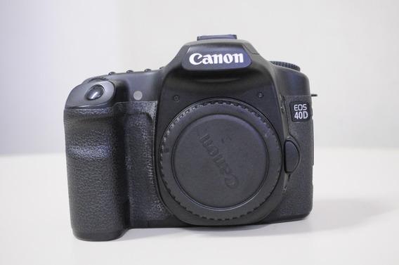 Canon 40d (corpo)+cartão De 8gb+carregador+bateria Por 1,000