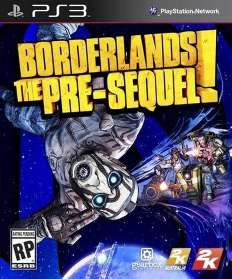 Borderlands The Pre-sequel ! (ps3) Jogo Play 3 Em Oferta
