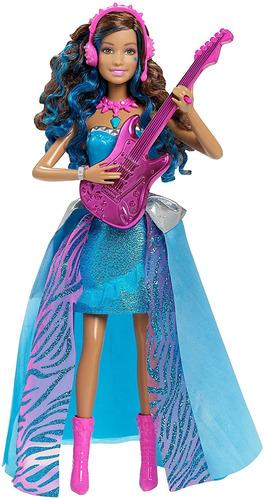 Barbie En Rock 'n Royals Cantando Erika Muñeca., Null, Null