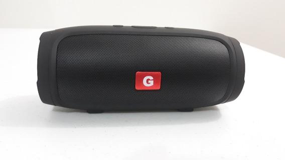 Caixa De Som Bluetooth J007 17cm - Goldenultra