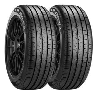 Paquete De 2 Llantas 225/45 R18 Pirelli P7 Cinturato Eo 91w