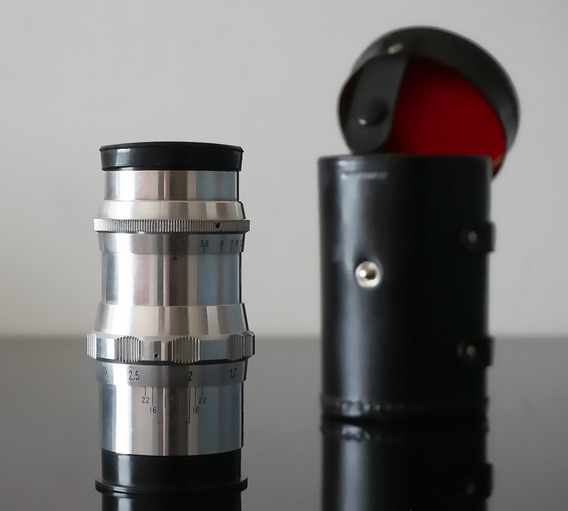 Lente Bonotar-germany 105mm M42 - Canon-sony-fuji-micro 4\3