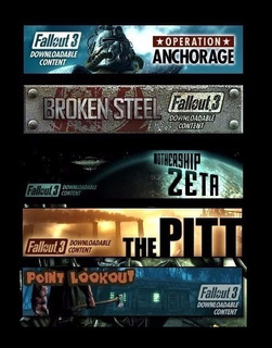 Fallout 3 Dlc ~ Ps3 Digital Español