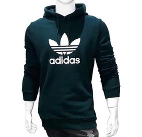 Moletom adidas Masculino Blusa Casaco De Frio Jaqueta Slim