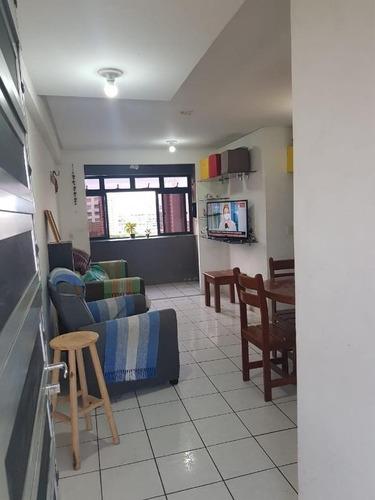 Apartamento Com 3 Dormitórios À Venda, 57 M² Por R$ 310.000,00 - Fátima - Fortaleza/ce - Ap2153
