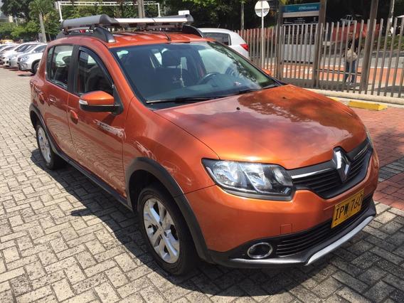 Renault Stepway Dinamique Intens 1.6 2016 Orange 5 Puertas