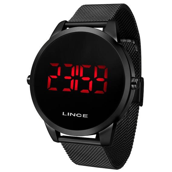 Relógio Lince Preto Mdn4586l Pxpx C/ Nf-e