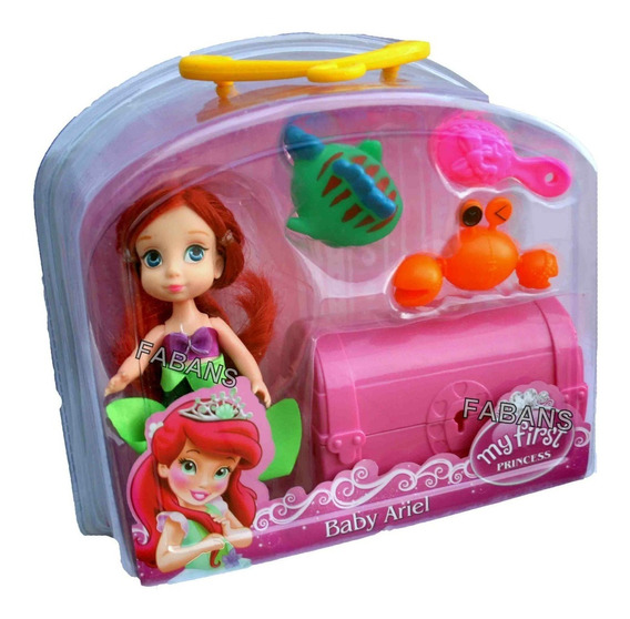 Muñeca Ariel Sirenita Elsa Olaf Frozen Juguete Niña Fabans