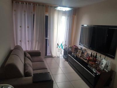 Apartamento Com 2 Dormitórios À Venda, 69 M² Por R$ 300.000 - Campo Grande - Rio De Janeiro/rj - Ap0177