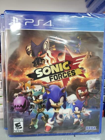 Jogo Sonic Forces Ps4 Mídia Física Novo Original Lacrado