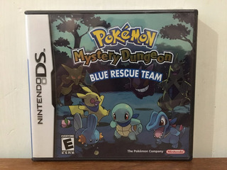 Pokemon Mystery Dungeon Blue Rescue Team Nintendo Ds Nuevo