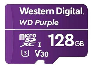 Tarjeta de memoria Western Digital WDD128G1P0A WD Purple 128GB