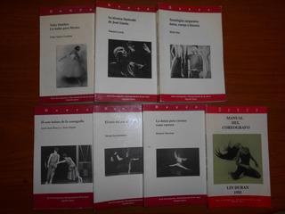 Lote Teoría De La Danza. 7 Ejemplares. Inba. Años 90´s.