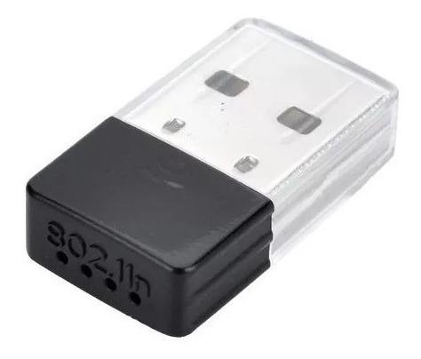 Nano Adaptador Usb Wireless N De 150mbps, Permite Aos Usuári