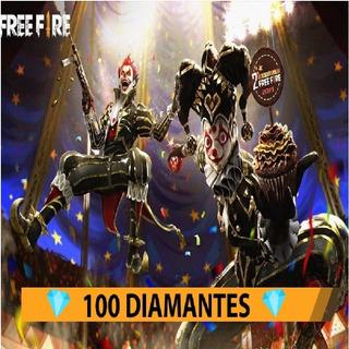 100 Diamantes Free Fire + 10 Bonus + Entrega Inmediata