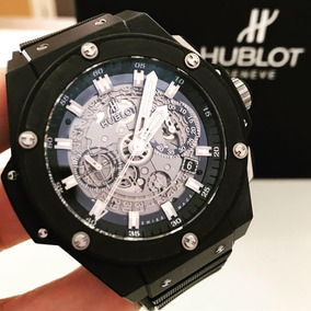 Hublot King Powe Unico Skeleton 48 Mm - Completo Impecável