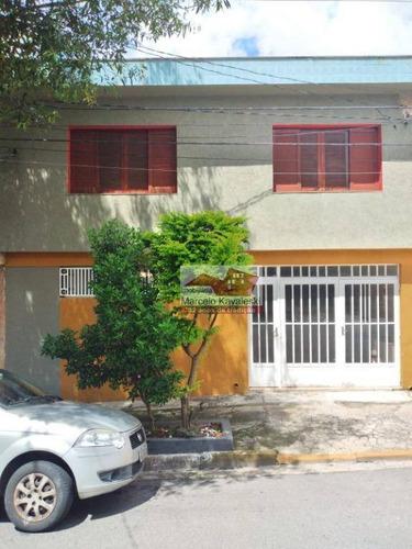 Sobrado À Venda, 119 M² Por R$ 600.000,00 - Osvaldo Cruz - São Caetano Do Sul/sp - So3312