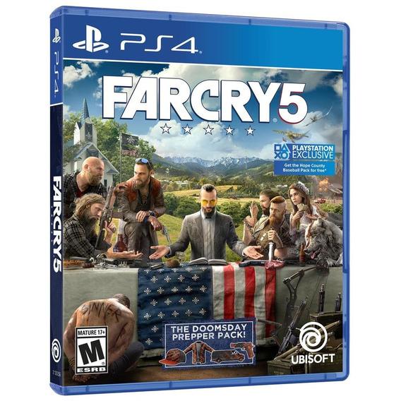Farcry 5 (mídia Física 100% Em Pt-br) - Ps4