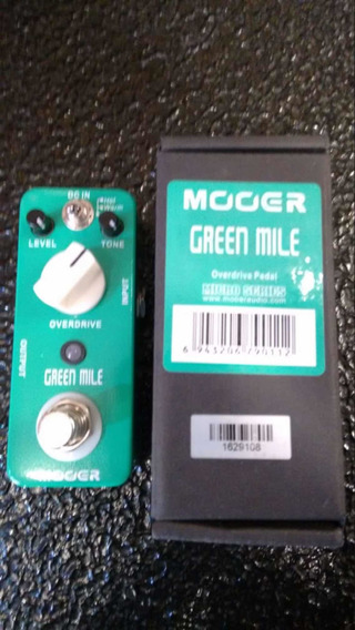 Pedal.mooer Overdrive Green Mile
