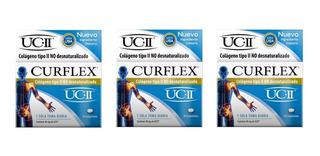 Curflex X 30 Compr Colágeno Tipo Ii Ucii X 3 Unidades