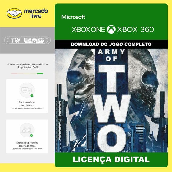 Army Of Two Digital Retro Xbox One Xbox 360