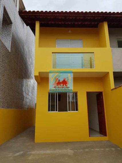 Sobrado Com 2 Dorms, Itaóca, Mongaguá - R$ 209 Mil, Cod: 1002 - V1002