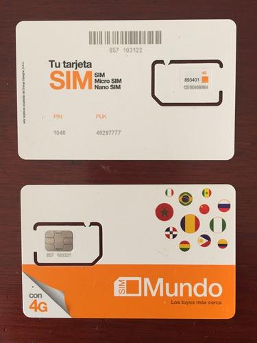 Mejor Sim Para España 12gb, 800 Minutos Llamadas A Colombia