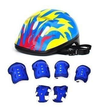 Imagen 1 de 4 de Set Completo Para Protección En Ciclismo O Patinaje