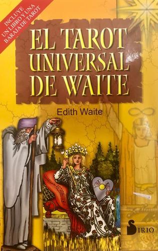 Imagen 1 de 10 de El Tarot Universal De Waite, Estuche De Libro Y 78 Cartas