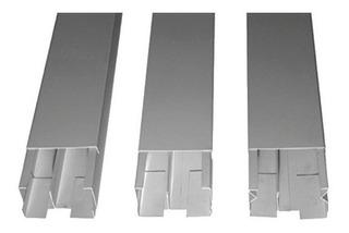 10 Canaletas Metalicas 10 X 4blanca Mas 10 Troqueles Triples
