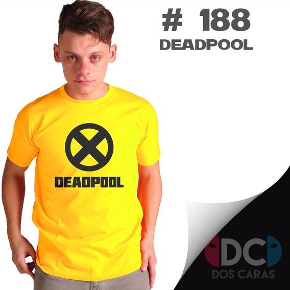 Remeras Comics Deadpool - X Men Fuerza X Marvel #188