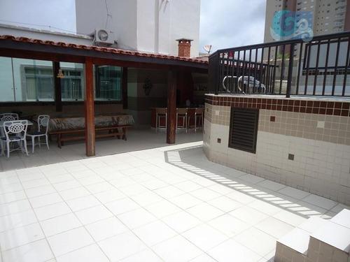 Imagem 1 de 14 de Cobertura À Venda, Praia Da Enseada - Hotéis, Guarujá - Co0231