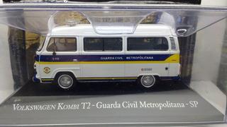 Miniatura Kombi Guarda Civil Metropolitana São Paulo 1/43