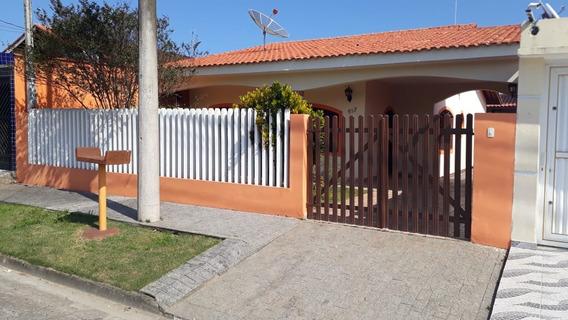 Casa Com Edícula Em Itanhaém, Próxima Da Praia