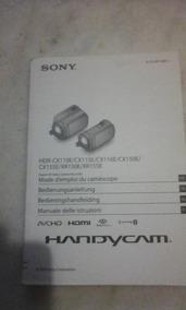 Manual Câmera Sony Hdr-cx111 E/cx115e/cx116e/cx150e/.....