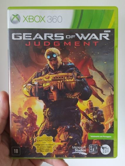 Gears Of War Judgment Original Mídia Física Xbox 360